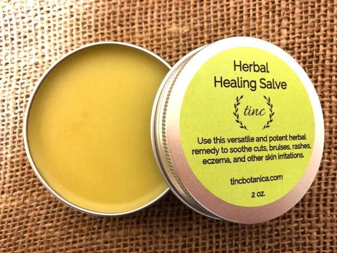 herbal healing salve interior Etsy
